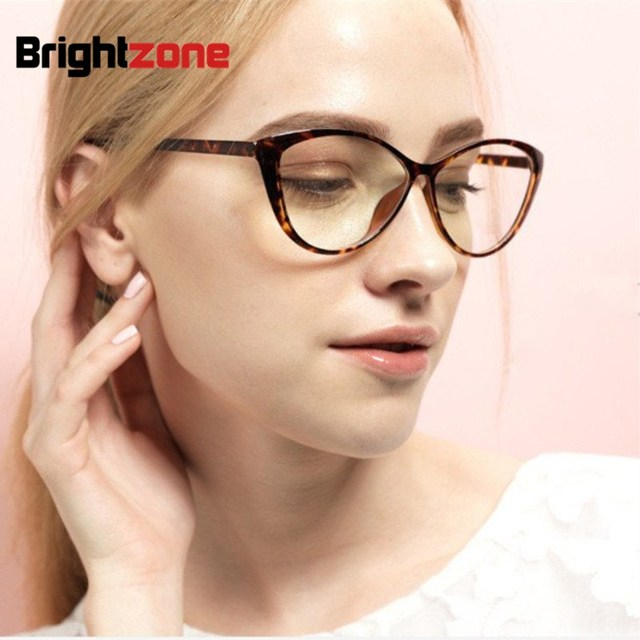 2f1f73dba0 2017 new fashion brand women sexy cat eye glasses plain women Clear Cat Eye  glasses frame