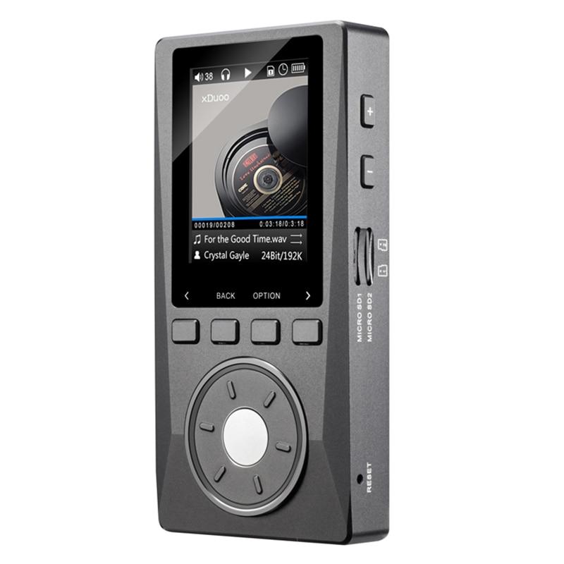 NOUVEAU XDUOO X10 (+ 32 GB + Étui En Cuir) Portable Haute Résolution Sans Perte DSD Musique Lecteur DAP en Charge Optique Sortie MP3 Lecteur