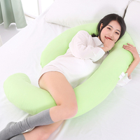 110* 70cm New Maternity big G Shaped Body Pillows Body Pregnancy Pillow For Side Sleeper Removable Cover
