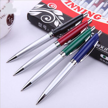 2 Piece New Metal Ballpoint Pen Fashion Comfortable Writing Pen Kawaii Novelty Offices School Supplies Christmas Gift
