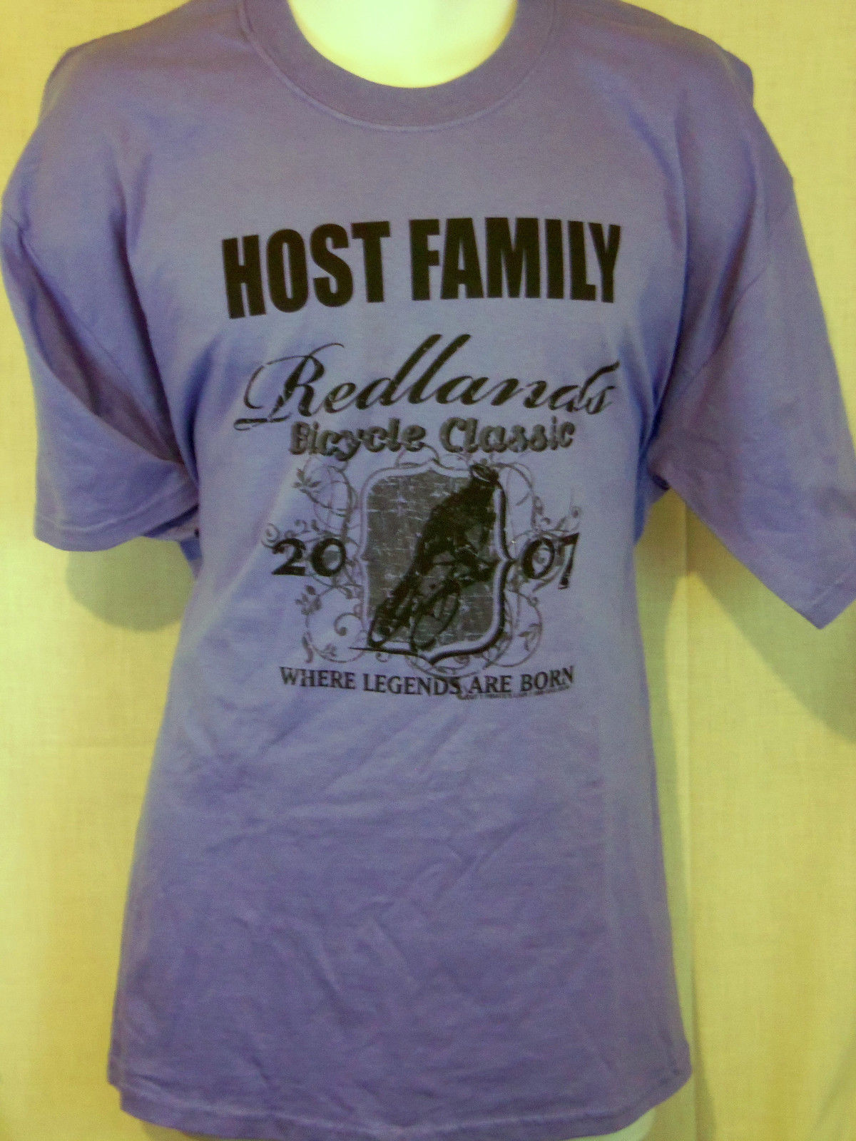 Redlands Bicycle Classic T shirt Mens Host Family Blue Graphic Cotton 2018 Newest Fashion