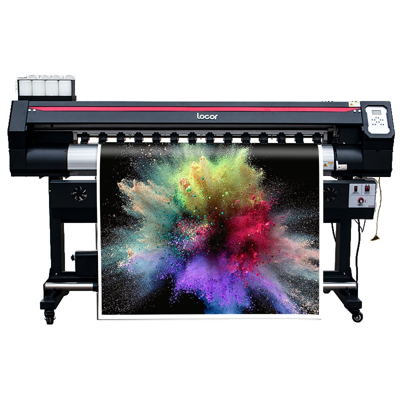 Wide Format Indoor Outdoor Printer CMYK 1.6m Printer 160cm Eco Solvent Single XP600 Plotter Free Shipping