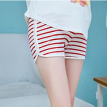 New Striped Adjustable Stomach Side Opening Pregnant Shorts Summer Fashion Active and Casual Elastic Waist Maternity Short Pants summer casual loose maternity shorts low elastic waist side white strip pregnancy short pants stomach lift pregnant shorts