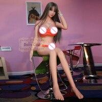 158 см Реалистичная Силиконовая секс кукла Скелет попка влагалище любовь кукла для взрослых большая грудь секс Робот куклы взрослые куклы дл