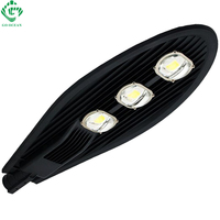 Black LED Street Lights 20W 50W 60W 100W 150W Road Highway Garden Park Street Light 85 265V IP65 Lamp Outdoor Lighting
