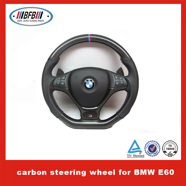 High Class Tuning Parts Carbon Steering Wheel For Bmw E60 Steering