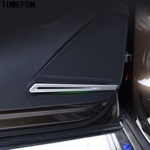 Для Volkswagen VW Tiguan второго поколения 2017 2018 ABS хром Внутренняя дверь стерео Динамик звук акустическое покрытие планки интерьер