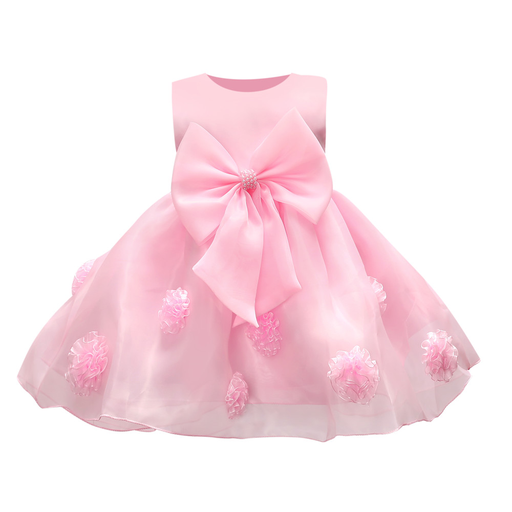 new hot sell baby girl dress lace flower around the kids well beautiful party girls noble pageant wear chic clothes 2021 Gift baby girl dress lace dress baby girlbaby dresses girl - AliExpress