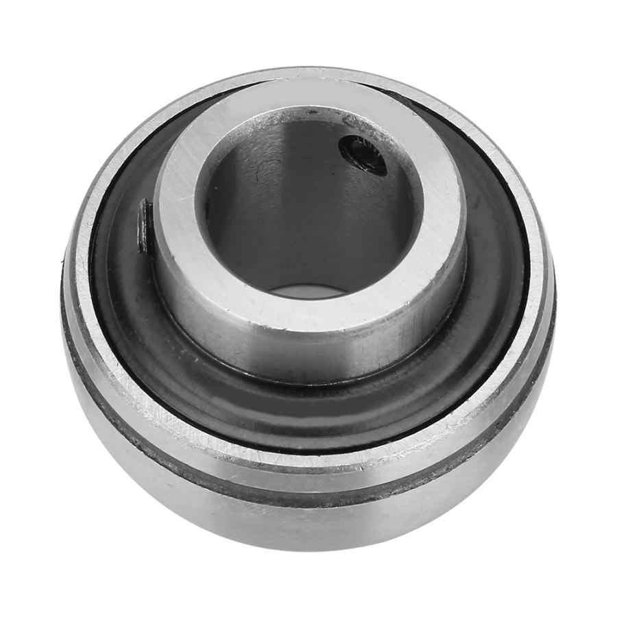 UC207-23 Insert Bearing,2Pcs Ball Bearing Steel Insert Bearing 35x72x42.9mm//1.38x2.83x1.69in for Variety of Machinery