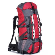 80 + 20L Large capacity Outdoor mountaineering bags Travel Camping backpack Men Woman Trekking backpack Waterproof Rucksack