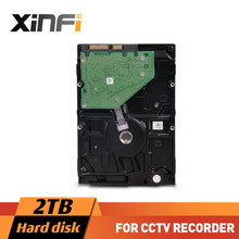 XinFi High quality 2TB Hard Drive Disk 3.5 inch 2000G HDD For CCTV DVR/NVR Security Camera System CCTV Accessories