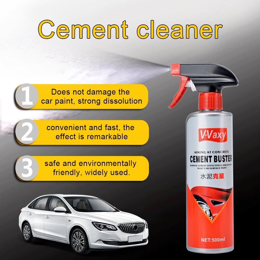 Car Paint Wheel Hub Cement Remover Surface Lime Cement Concrete Dissolution Cleaning Agent Glass Automotive Coating image