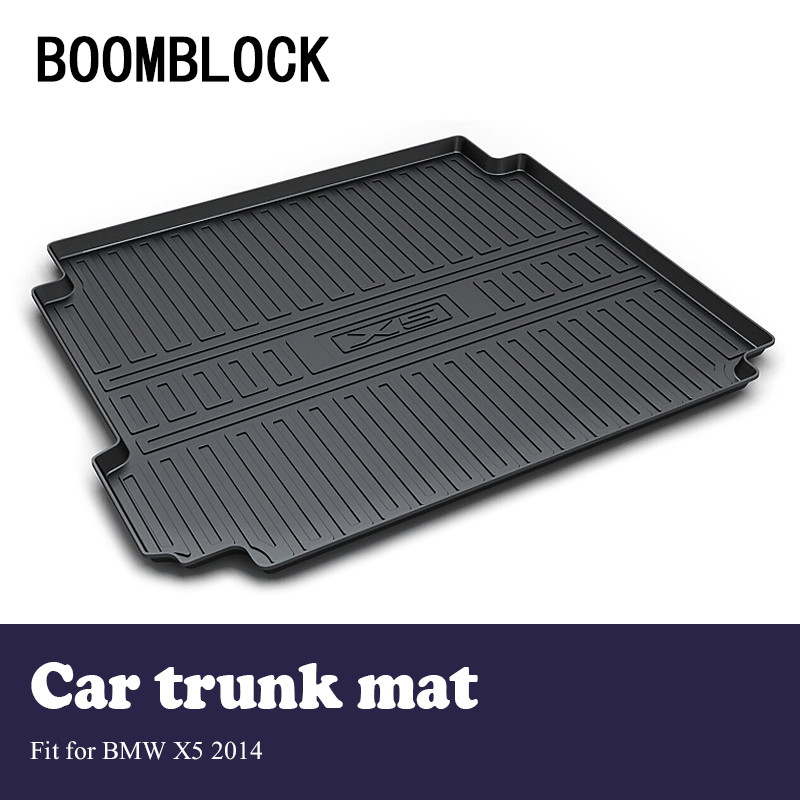 Auto Car Cargo Liner rear trunk mat For BMW X5 F15 2014 Luggage Tray Carpet Mud Anti Kick Cover Anti Slip Floor Mat AccessoriesAuto Car Cargo Liner rear trunk mat For BMW X5 F15 2014 Luggage Tray Carpet Mud Anti Kick Cover Anti Slip Floor Mat Accessories