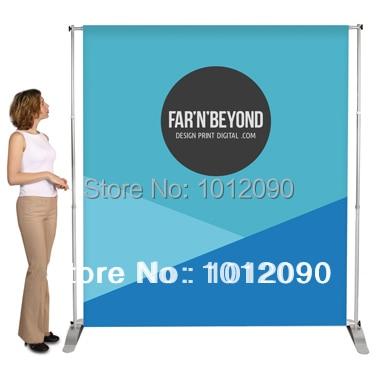 Telescopic Banner Stand Jumbo- ի ֆոնային ցուցադրման - Տնային դեկոր - Լուսանկար 1