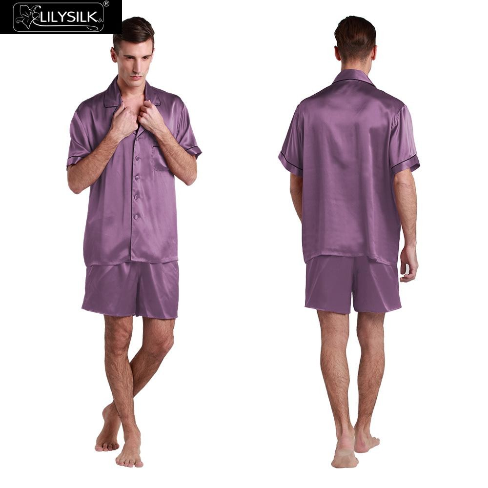 1000-violet-22-momme-contrast-trim-short-silk-pyjamas-set