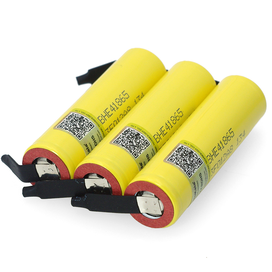 Image 2 - Liitokala Lii HE4 2500mAh Li lon Battery 18650 3.7V Power Rechargeable batteries Max 20A discharge +DIY Nickel sheet-in Replacement Batteries from Consumer Electronics