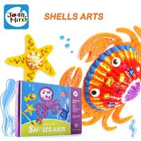 children Brand shell arts drawing toys/ Kids baby coloring shell with full tools and English instruction, free shipping