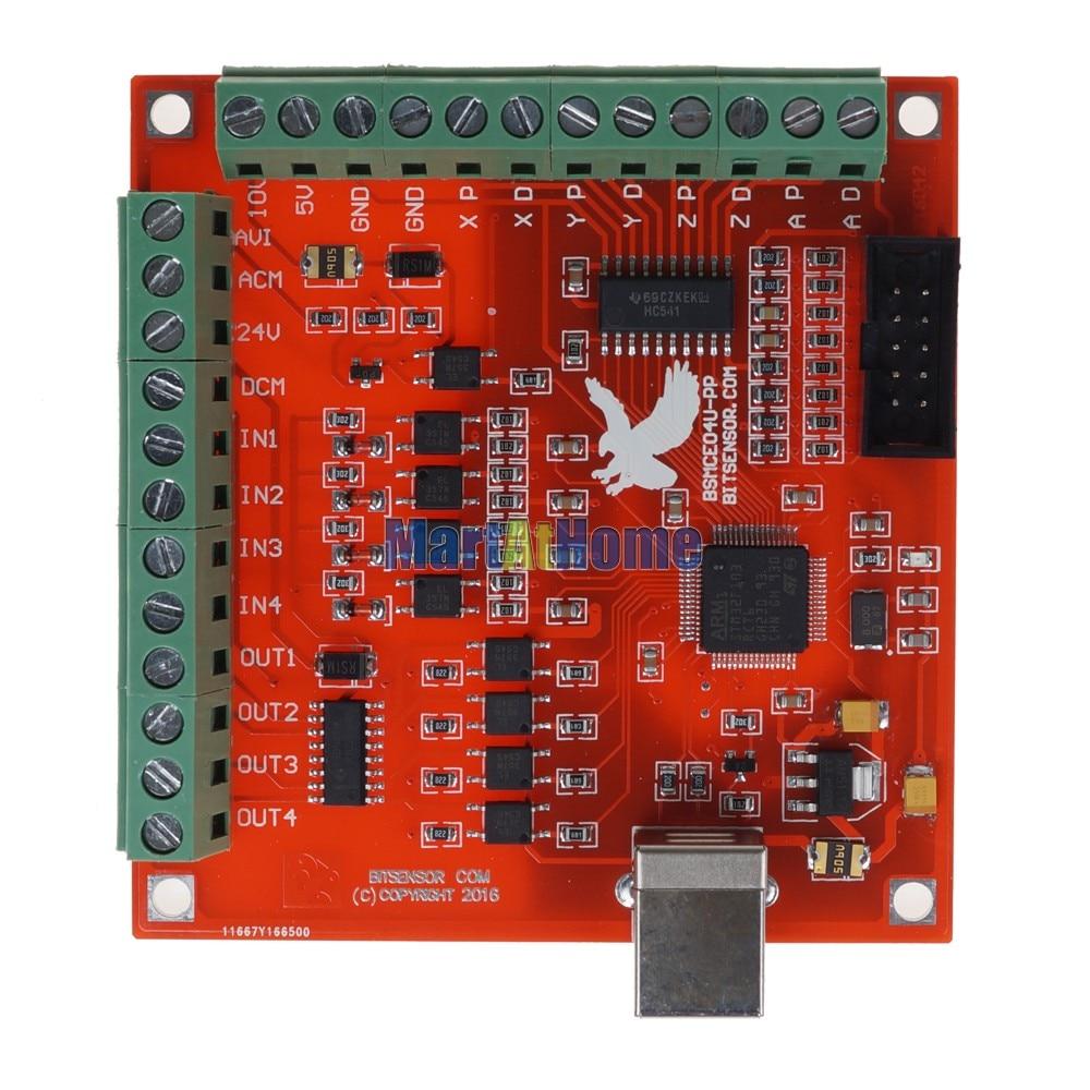 Vente ARGEDO CNC USB 4 Axe MACH3 100 Khz Carte De Commande