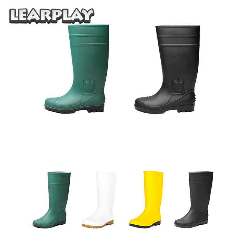 Stephen Kings IT Georgie Denbrough Cosplay Rain Boots Green Outdoor Shoes Halloween Costume Accessories for Men Women