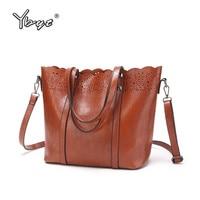 YBYT Brand 2017 New Vintage Casual Large Capacity Women Tote Bag High Quality Ladies Shopping Handbags