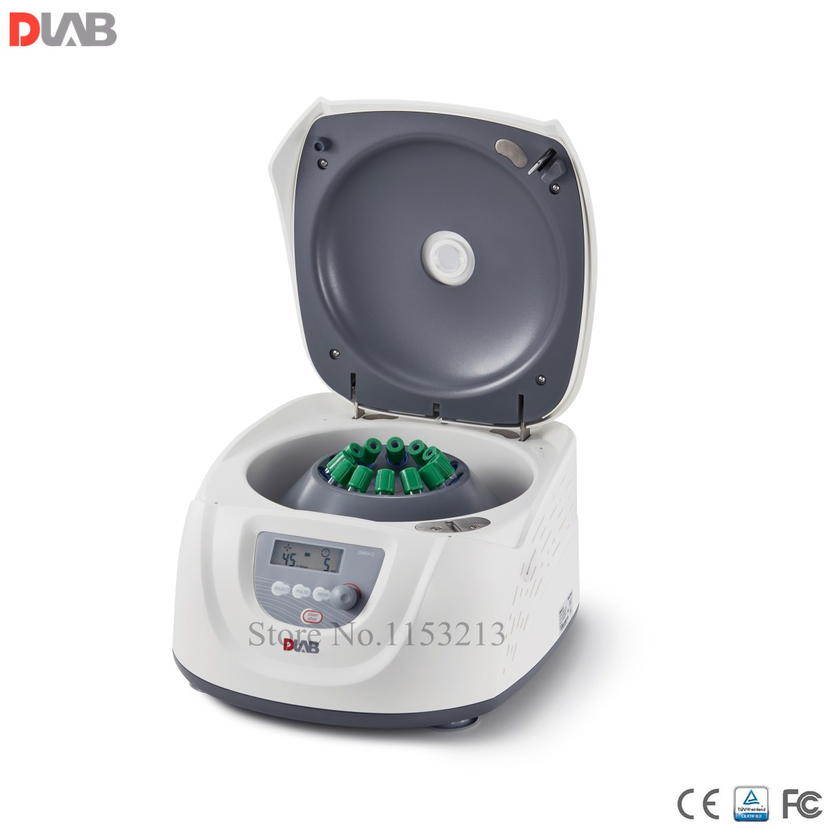 Clinical Centrifuge 15ml 8 or 10ml 7ml 5ml 12 Dlab DM0412 Slow Speed Centrifuge 300 4500rpm