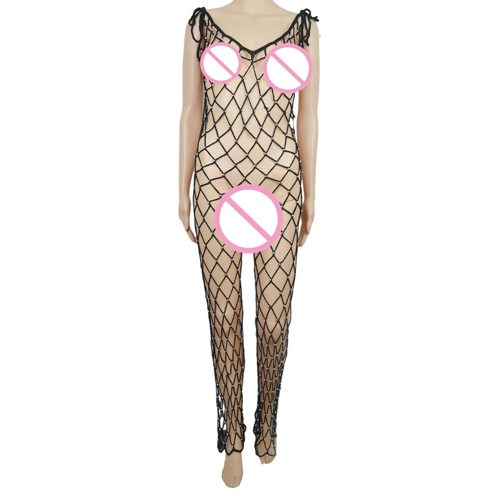8128914cd4a73 2019 JAYCOSIN Women Jumpsuit Sexy Rompers Crochet Beach Cover Up ...
