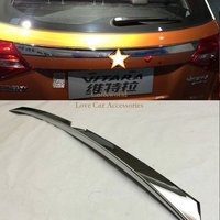 FOR SUZUKI VITARA CHROME REAR TRUNK BOOT TAILGATE DOOR LID COVER TRIM MOLDING STAINLESS GARNISH STRIP
