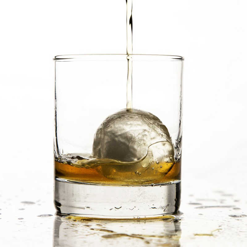 Thiết Kế Mới 6 Lỗ Kem Bóng Uống Rượu Vang Khay Gạch Vòng Máy Làm Khuôn Hình Cầu Khuôn Mẫu Đảng Thanh Ốp Đá khúc Côn Cầu Trên Khuôn Mẫu