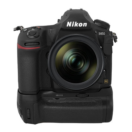 Pixel Vertax MB-D18 Battery Grip work with EN-EL15a/EN-EL15 battery balancing and anti-shake For Nikon D850 Camera DSLR meike mk d750 battery grip pack for nikon d750 dslr camera replacement mb d16 as en el15 battery