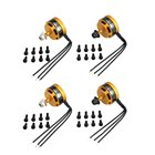 4pcs OCDAY 2205 2205 2300KV 3-4S CW/CCW Brushless Motor for QAV250 Wizard X220 280 RC FPV Drone Airplane Helicopter Toys Part