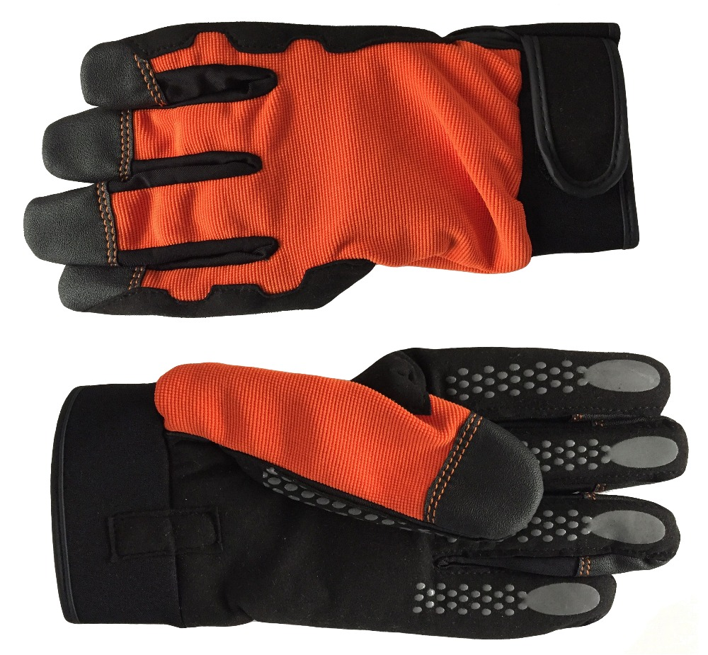 Radient 1 Pair Anti-vibration Impact Protection Latex Labor Protection Work Gloves Wear Resistance Gloves 2019 Security & Protection