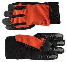 Shock Verminderen Veiligheid Handschoen Gewatteerde Palm Trillingen Slip Werkhandschoenen