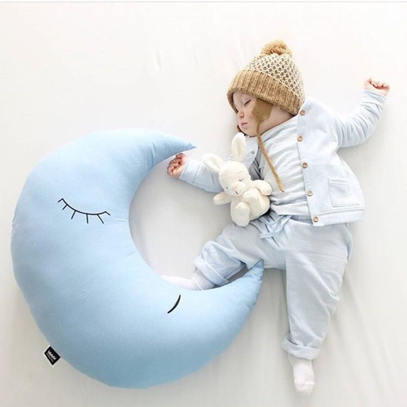 Super Soft Newborn Photography Pillow 75cm*75cm Baby Sleeping Pillows Moon Cushion лыжи цикл лыжики пыжики 75cm 1032036