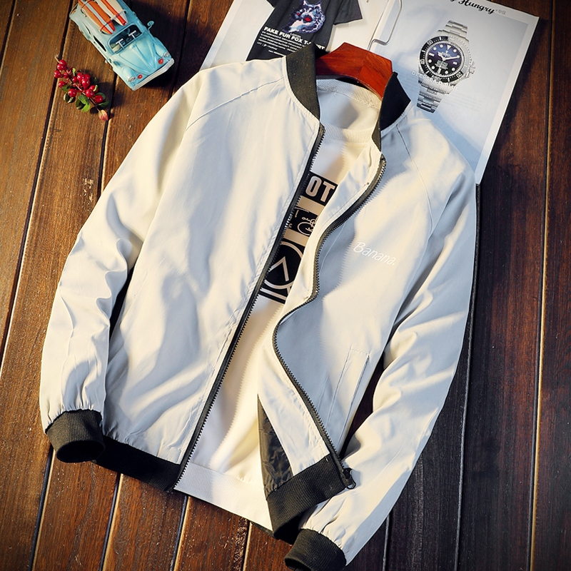 Chic Men Long Sleeve Jackets Mens Newest Pockets Jacket Male Fashion Coats Casual Loose Coat Korean Style School Students Trendy 30
