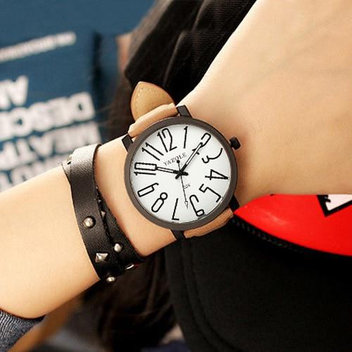 YAZOLE Fashion Quartz Watch Women Watches Ladies Brand Wristwatches For Woman Female Wrist Clock Montre Femme Relogios Feminino 2016 yazole brand watches men women quartz watch female male wristwatches quartz watch relogio masculino feminino montre femme
