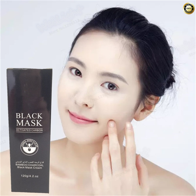 Face Care Skin Firming and Tighten Black Mask Suction Blackhead Remover Peeling Peel Off Black Head Acne Treatments Black Mask
