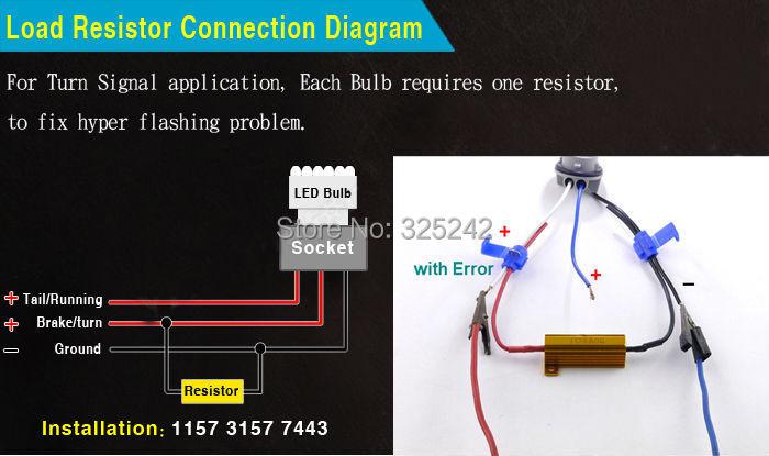 Para dodge dakota durango journey neon nitro ram 1500 excelente 3157 20smd 5630 load resistor19 fandeluxe Choice Image
