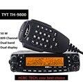 50 км Дальний диапазон 1801A TYT TH-9800 Plus Quad Band 50 Вт Автомобильная Мобильная морская радиостанция TYT TH9800 TH 9800 ретранслятор скремблер