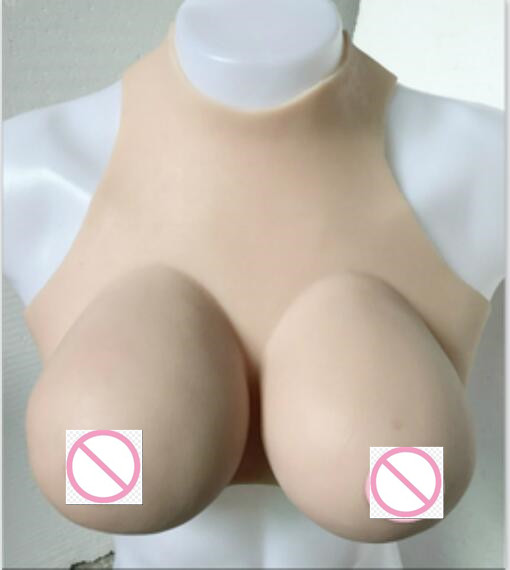 B E Realistic Breast Form for Crossdresser and Mastectomy Woman Crossdressing Drag Queen Transsexual Fake Boob