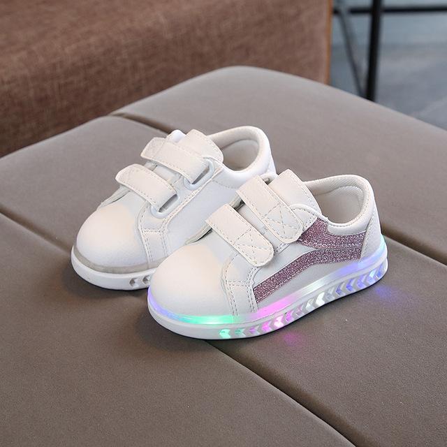 Chaussures de sport Talon Led pour bébés