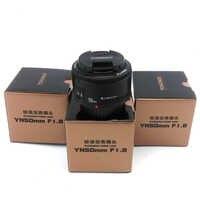 YONGNUO-lente de enfoque fijo de gran apertura para cámaras Canon EOS DSLR, marco completo y APS-C, EF 50/1.8 AF MF 50mm f1.8-f22, yn50 mm