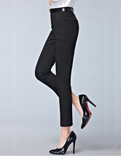 2017 Весна новая мода высокая талия карандаш брюки для женщин офис ПР стиль рабочая одежда узкие брюки женские старинные брюки(China (Mainland))