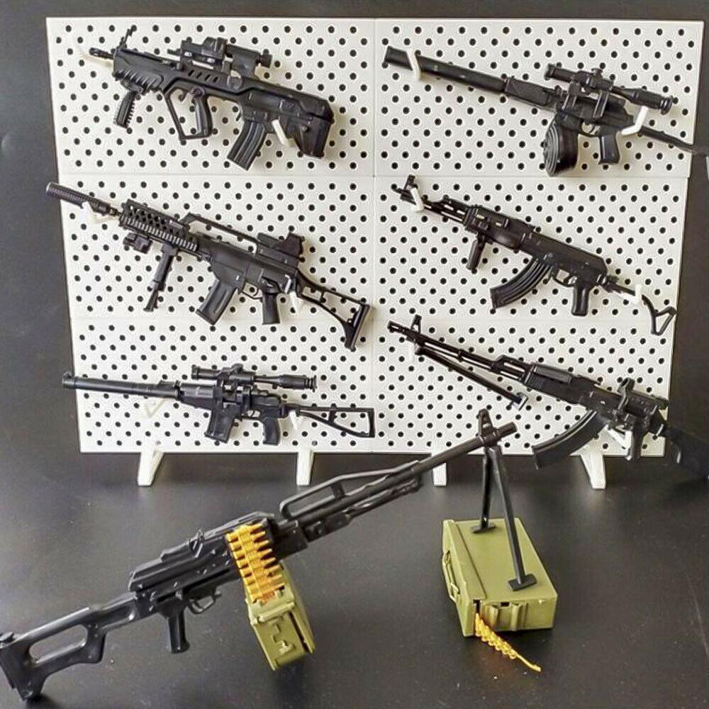 SWAT 1//6 Scale World Gun Model RPK74 M240 PKP Tavor G36KSK 9A-91 AK47//AKM ASVAL