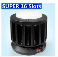 KENTLI Super 16 Slots Unique Multi Fuctional Charger Emergency Lamp For KENTLI 1 5v AA AAA