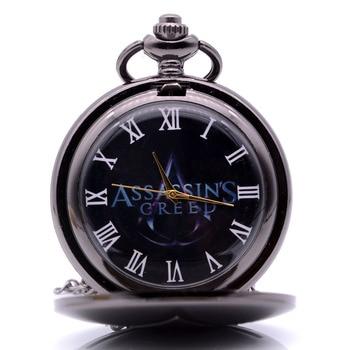 Карманные часы с логотипом игры кредо убийцы