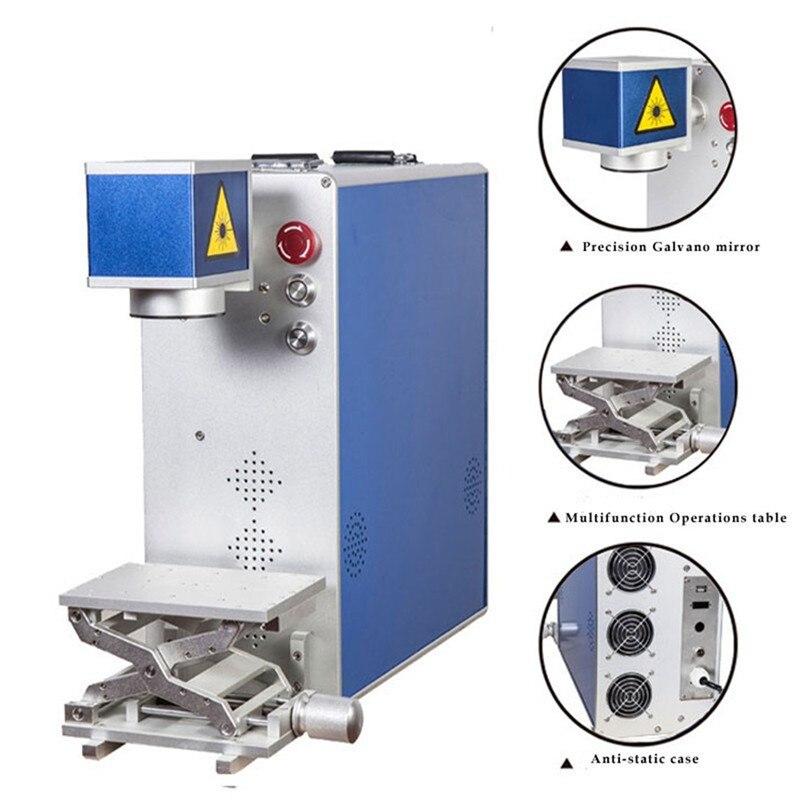Высокая точность волоконно лазерная маркировочная машина для клавиатуры компьютера, аксессуары, автозапчасти с хорошая цена