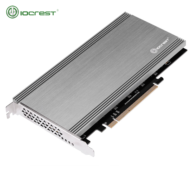 IOCREST PCIe 3.0 To 5 M.2(SATA ) B- Key Card Support 2280, 2260, 2242 And 2230 Size