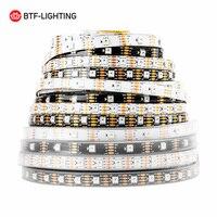WS2815 DC12V (WS2812B/WS2813) RGB LED Pixels Strip Light Individually Addressable LED Dual Signal 1m/5m 30/60/144 Pixels/Leds/m