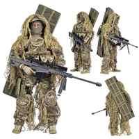 1/6 12-zoll Kunststoff Simulation Puppe Kunststoff sammlung ebene multi-zubehör sniper mit Barrett militär modell soldaten