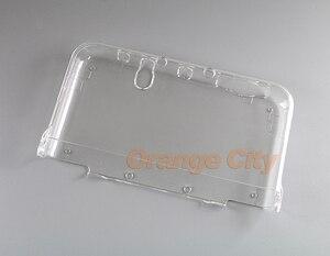 Image 2 - ChengChengDianWan прозрачный жесткий прозрачный чехол, защитный чехол для нового 3DS XL/LL NEW 3dsxl 3dsll, кристальный протектор, 20 шт.